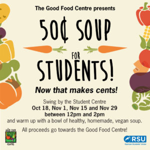 Soup for Cents @ Ryerson Student Centre